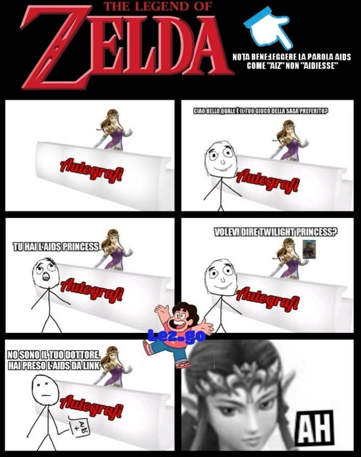 Ok la smetto con i meme su The legend of Zelda