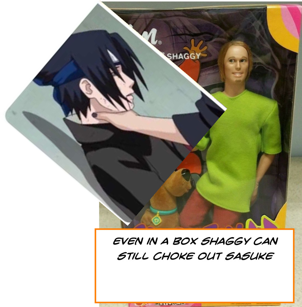 Shaggy raw power - meme