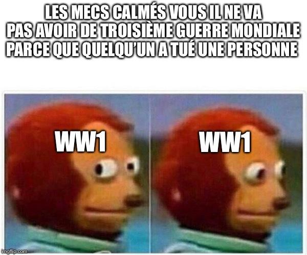 Calmeeeez vouuus - meme