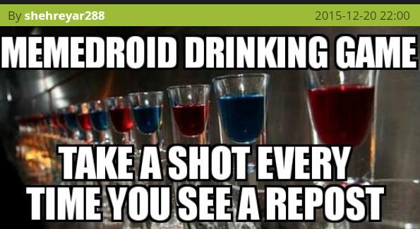 Shot #1 - meme
