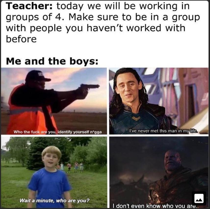 Tactical bro squad - meme