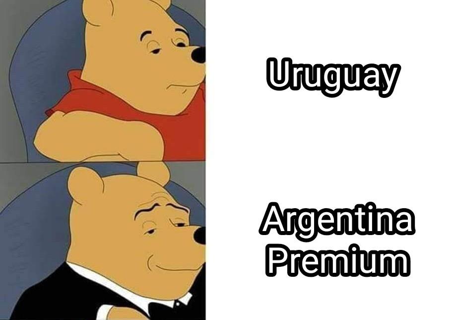 Expliquen la historia de Uruguay - meme