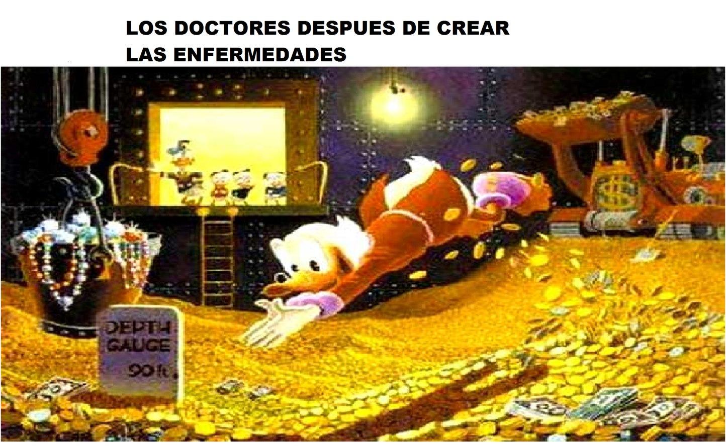 LAS ENFERMEDADES FUERON CREADAS POR LOS DOCTORES - meme