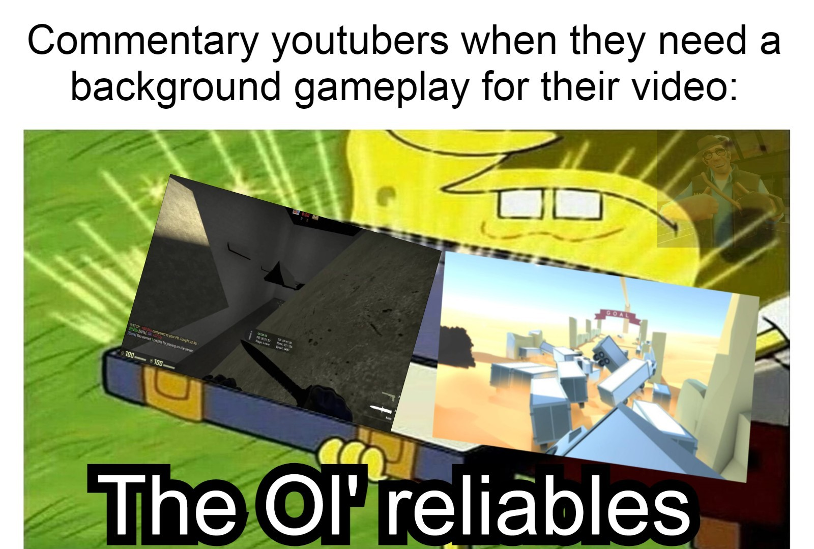 Sometimes I'm more interested in their gameplay. - meme