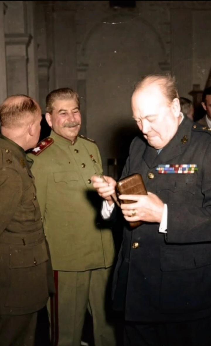 El mayor miedo de Winston Churchill - meme