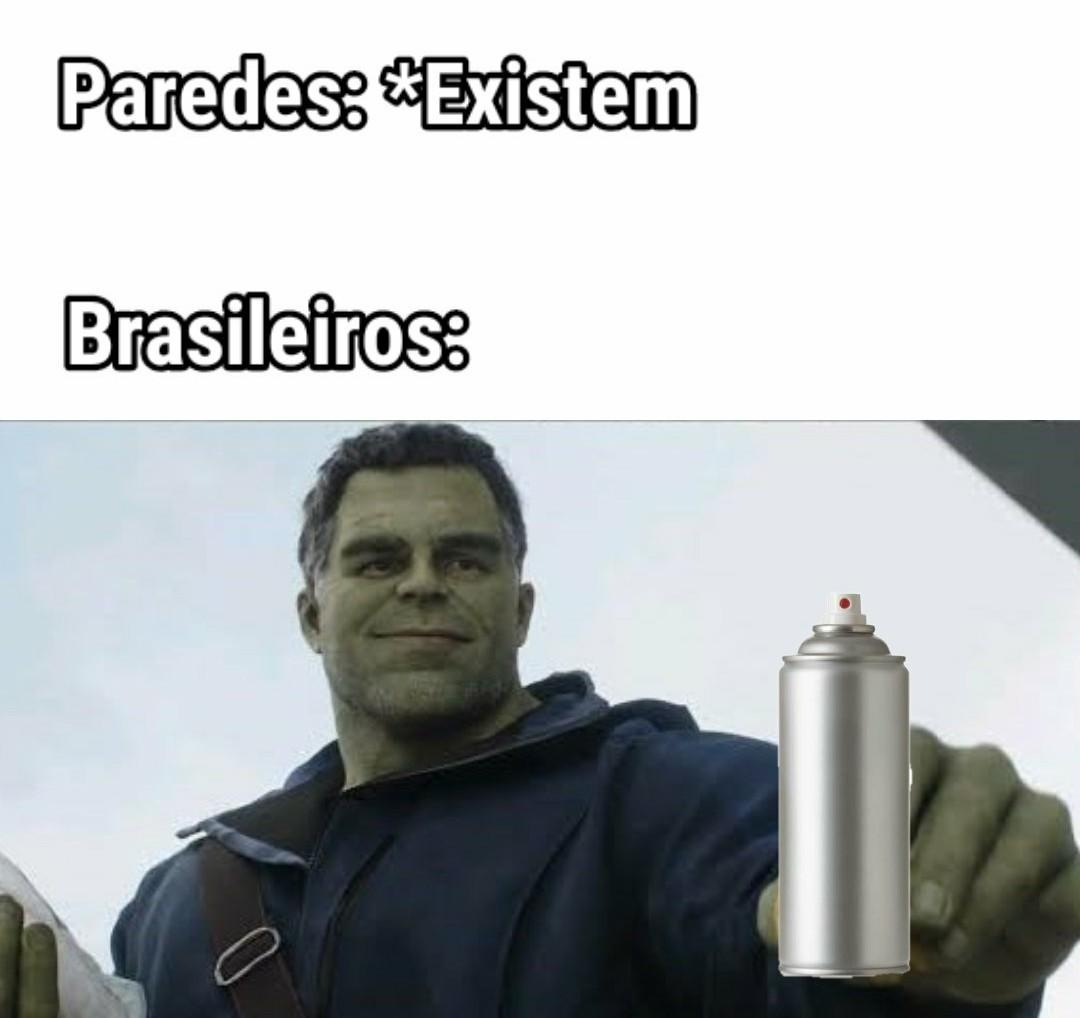 Hulk pixador - meme