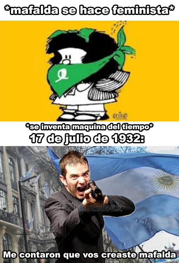 Mafalda=Comedia'nt - meme