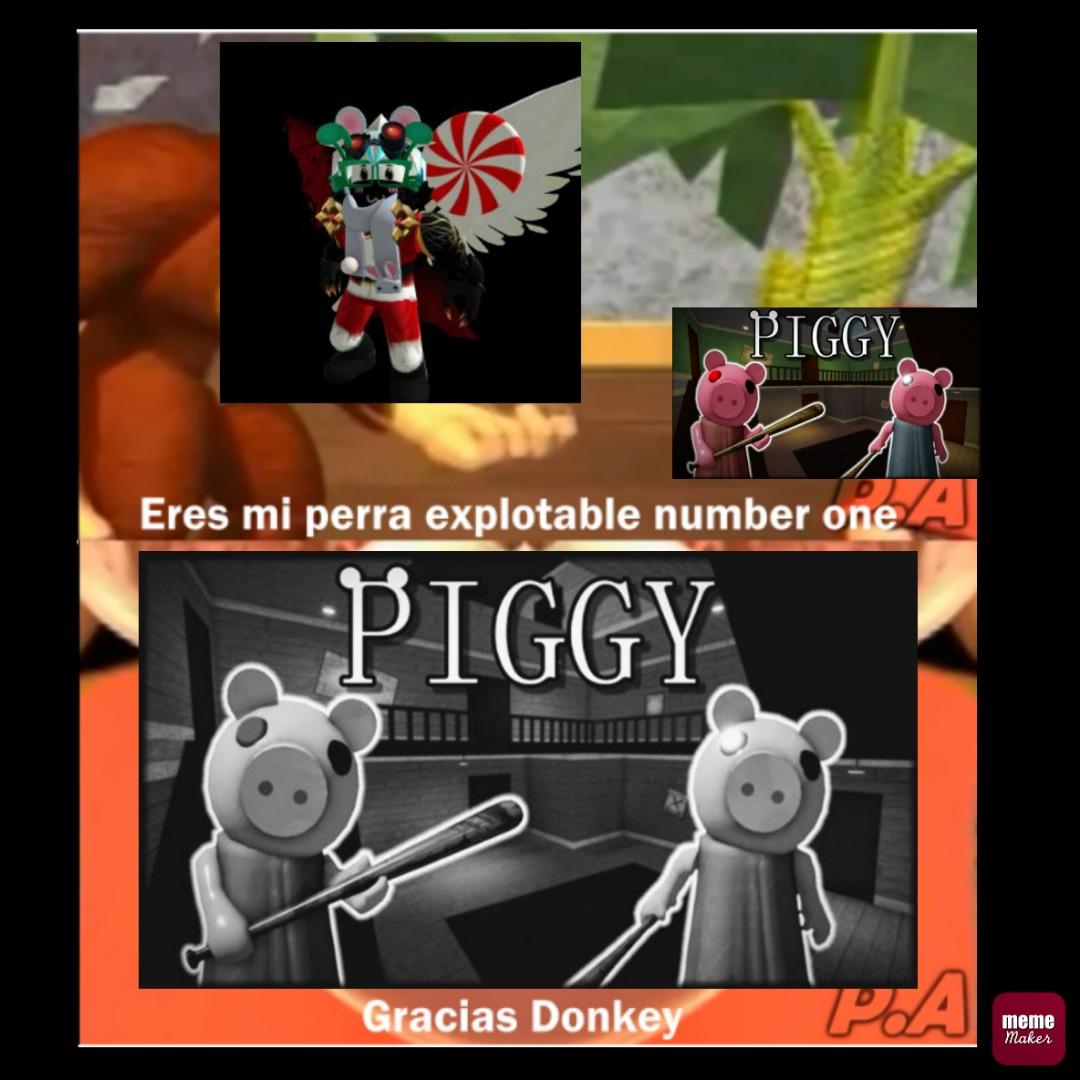 Iguzgay sobreexplota a piggy como siempre -_- - meme