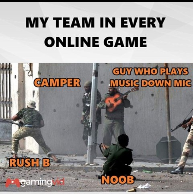 My team... - meme