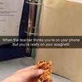moms spaghetti...