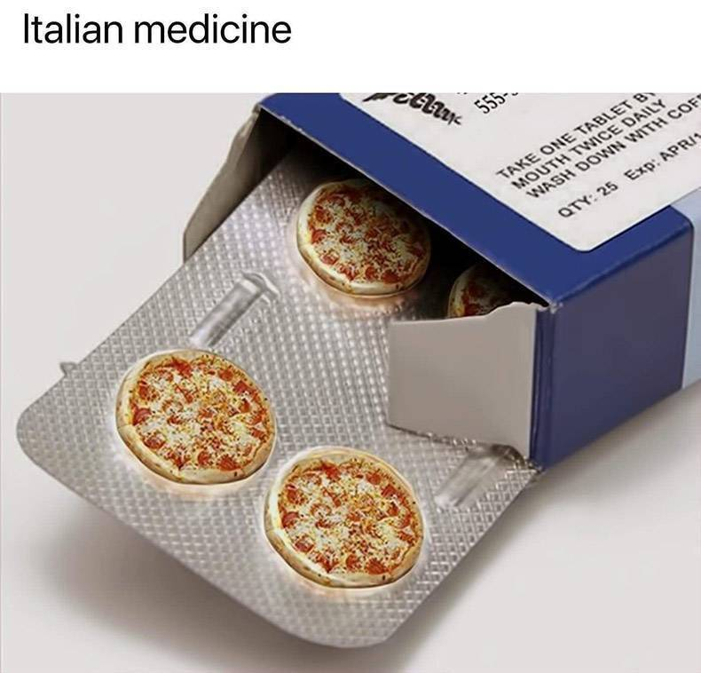 Medicina italiana - meme