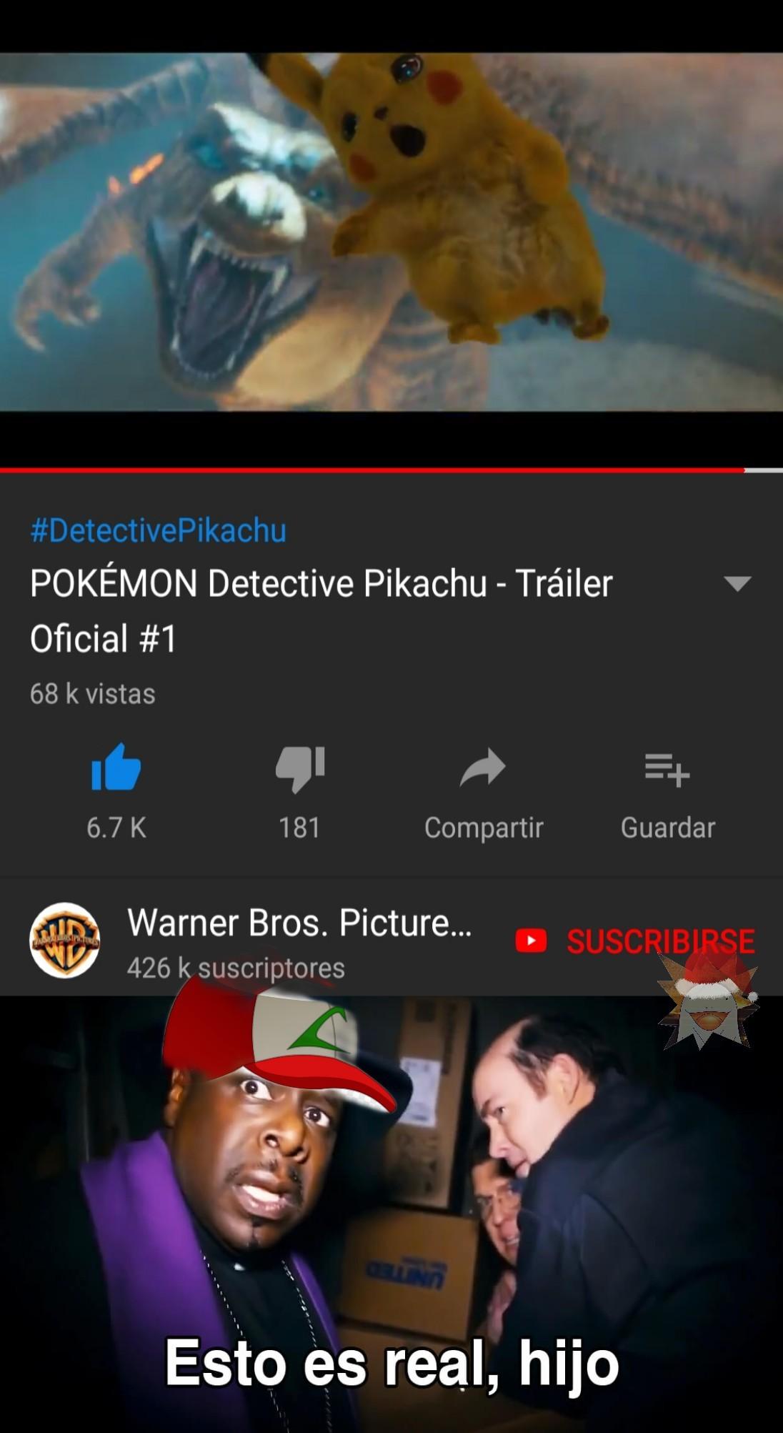 La pelicula de pokemon que nadie se esperaba pero que todos querian ver - meme