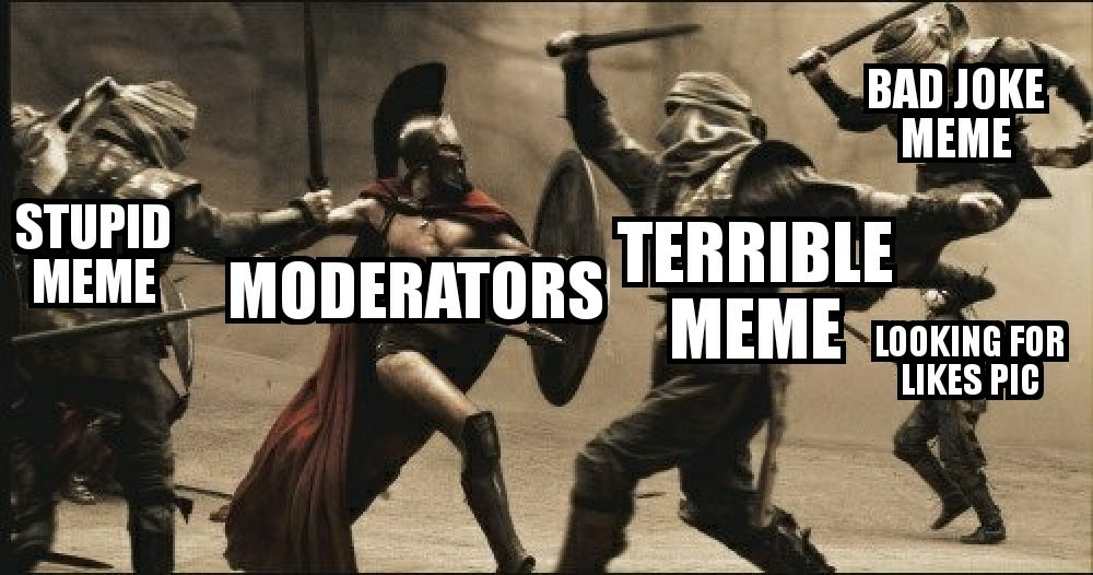 THIS IS MODERATION!!! - meme