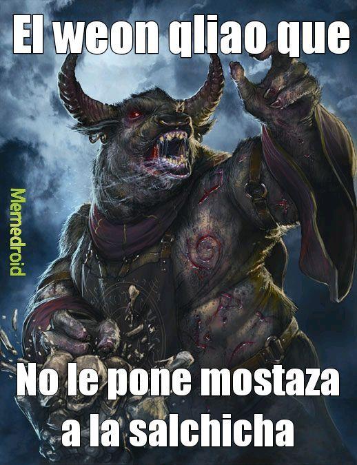 Mostaza - meme