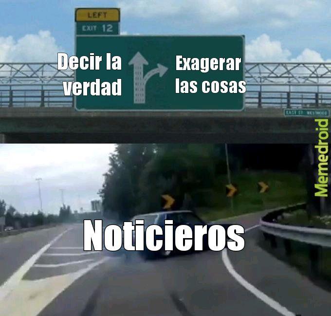 Noticieros - meme