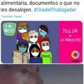 Negro=verdulero  Blanco=doctor