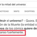 No manches, Con razón Thanos quería eliminar la mitad del universo XD