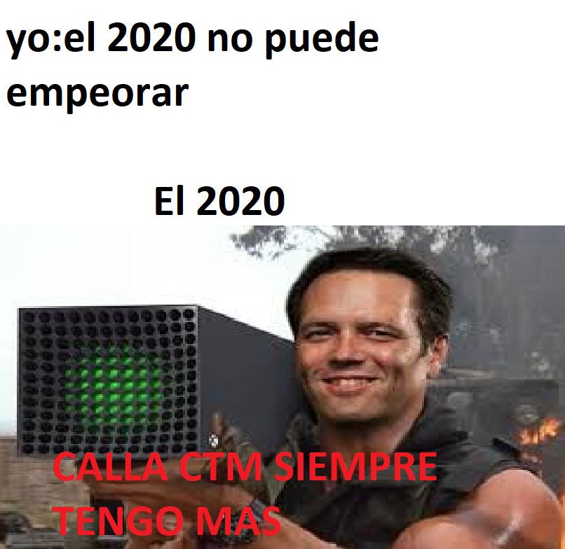 esperemos sobrevivir el 2020 - meme