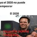 esperemos sobrevivir el 2020
