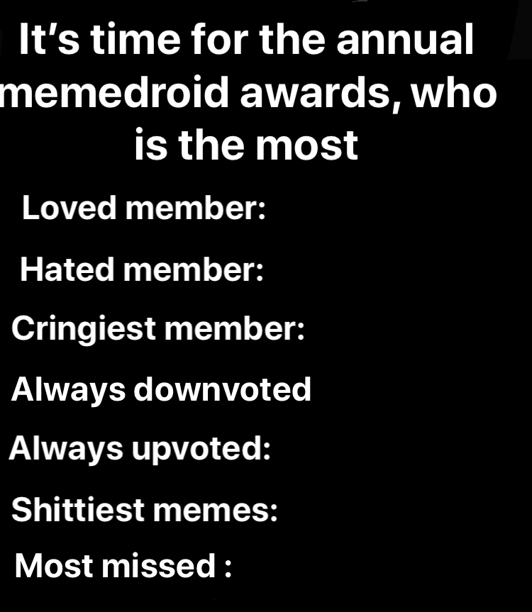 Aright ladies and gents get to voting - meme