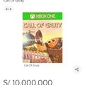Coperen para el call of gruty de 10,000,00