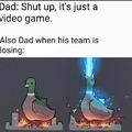 Godzilla duck