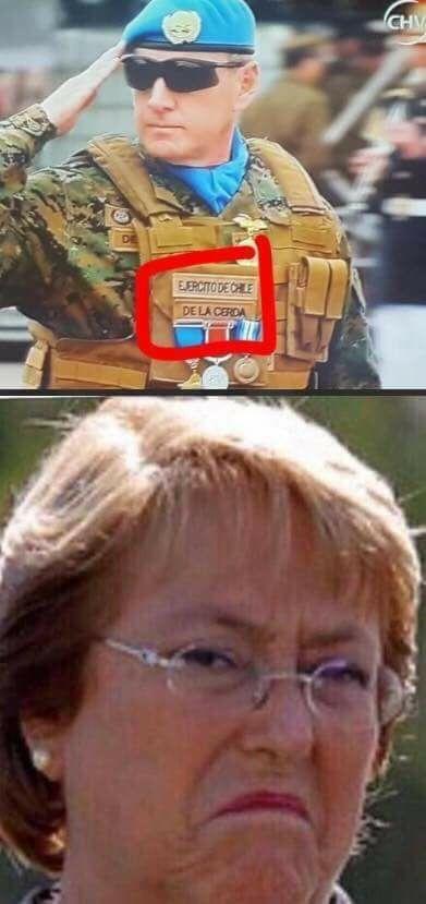 jajajajjaja buena chanchelet - meme