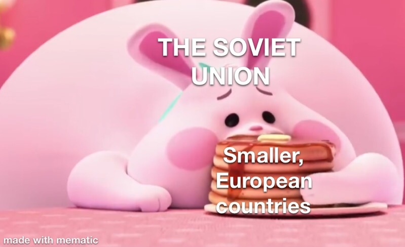 The soviet union during the 50s-70s - meme