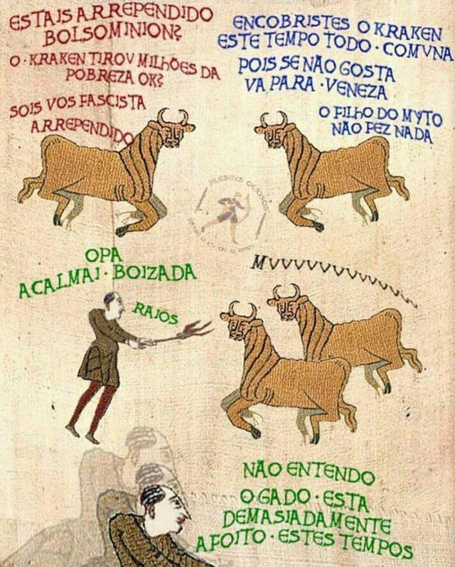 MALDITOS BOVINOS - meme
