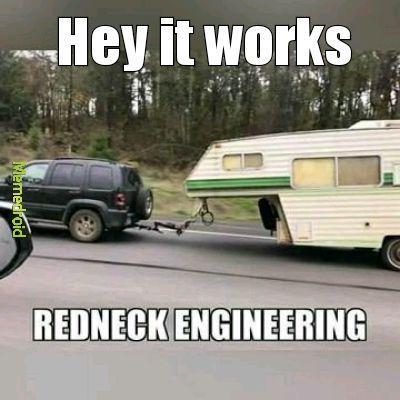 Redneck and genius - meme