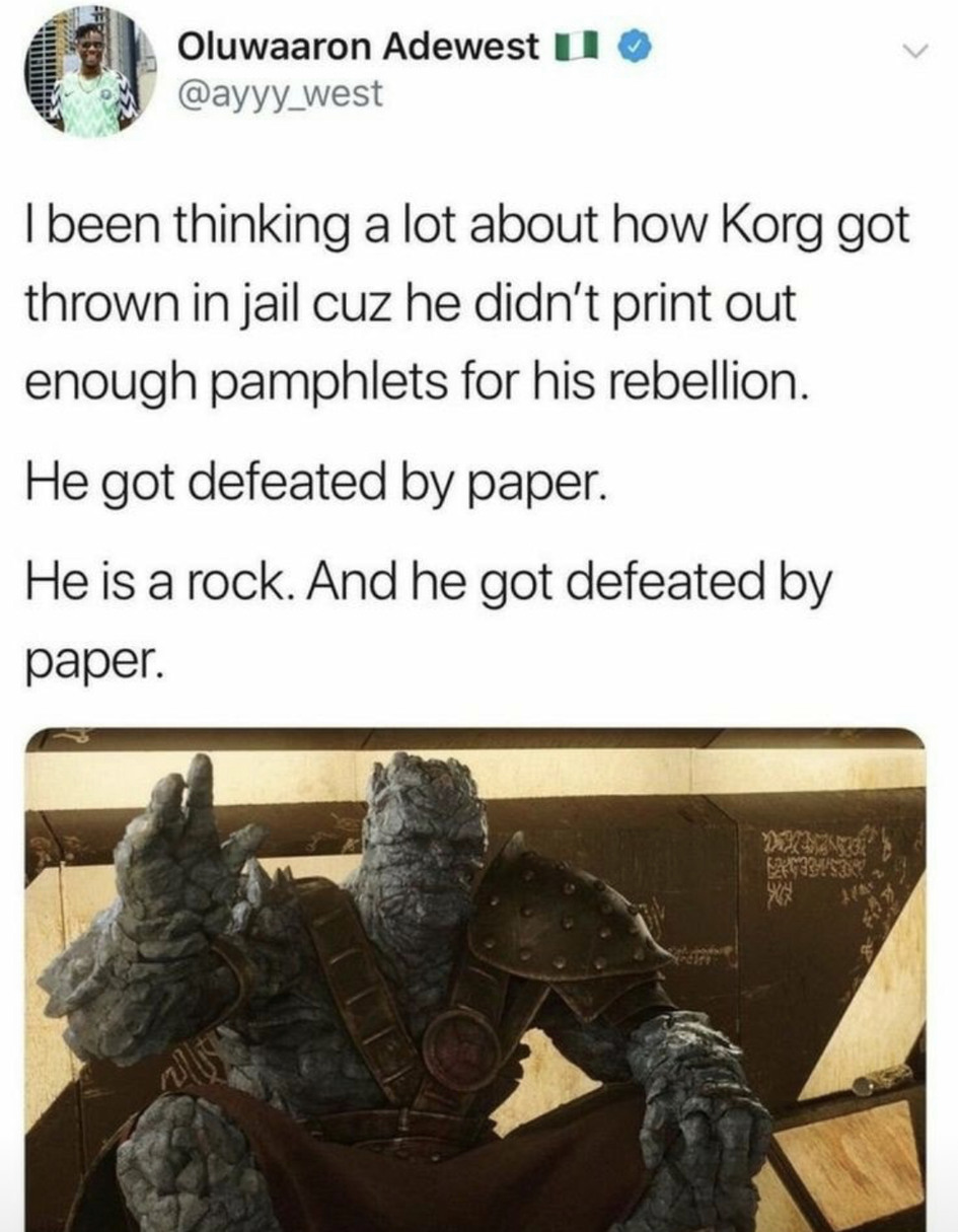 Korg - meme