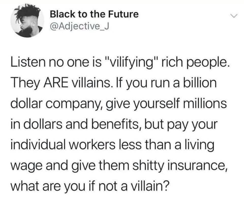 villains - meme
