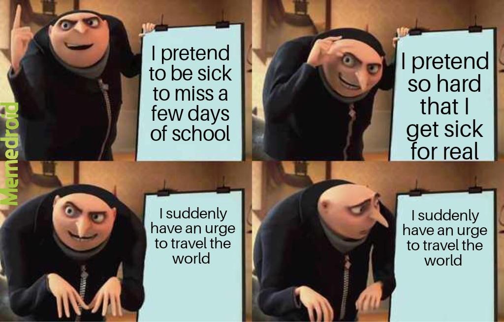 Coronavirus is just a spicy flu, change my mind - meme