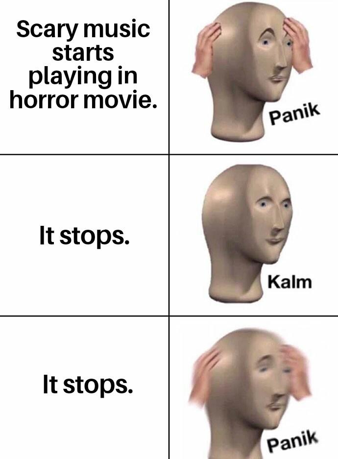 I'm back. - meme