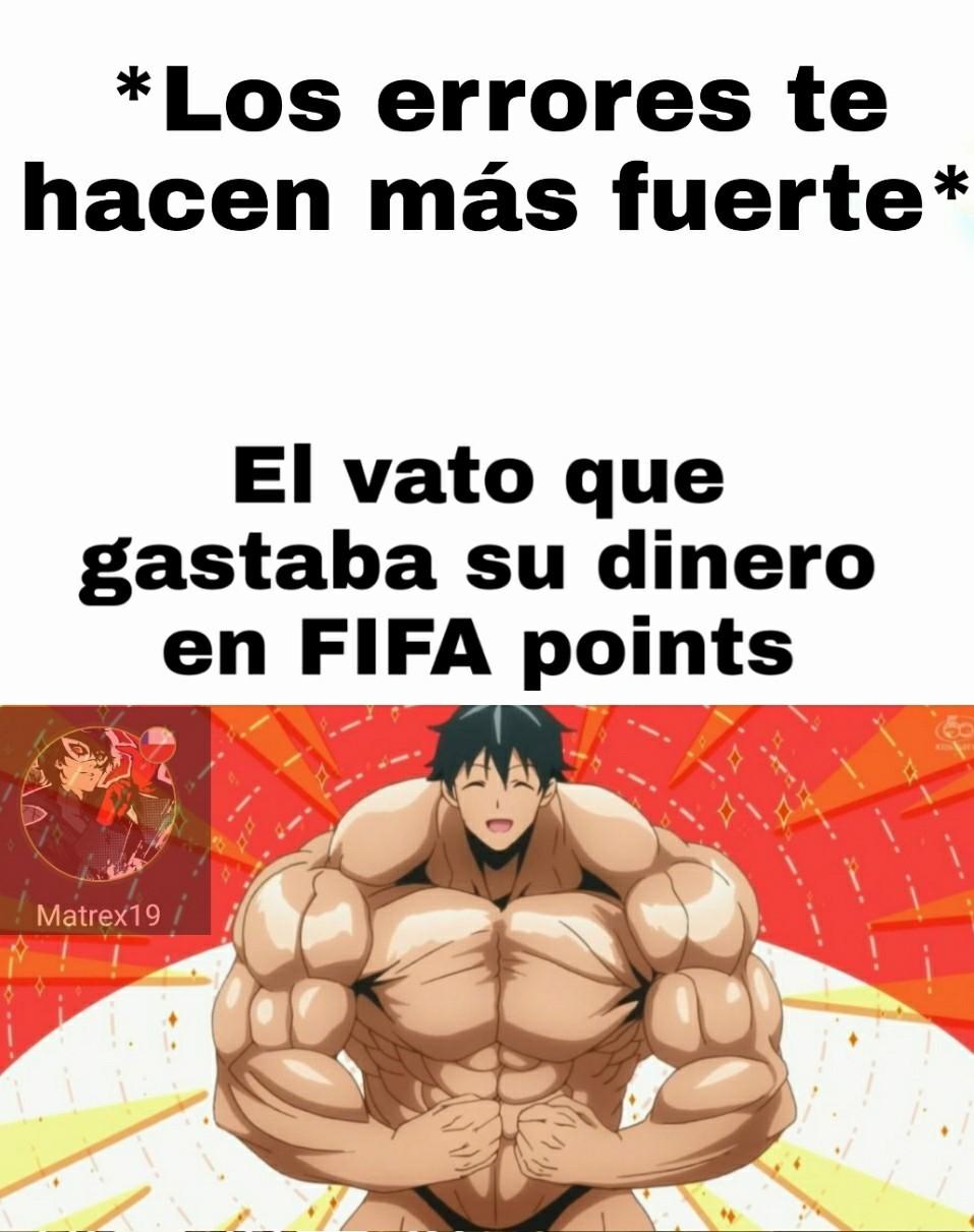 Uff que mal, considero que esto es peor que comprar FIFA cada año, es un desperdicio de plata/dinero... - meme