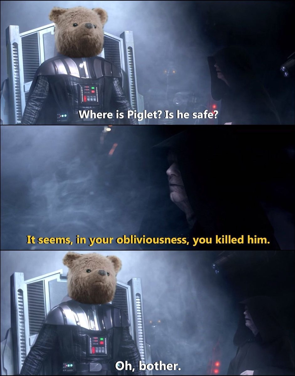 Oh bother - meme