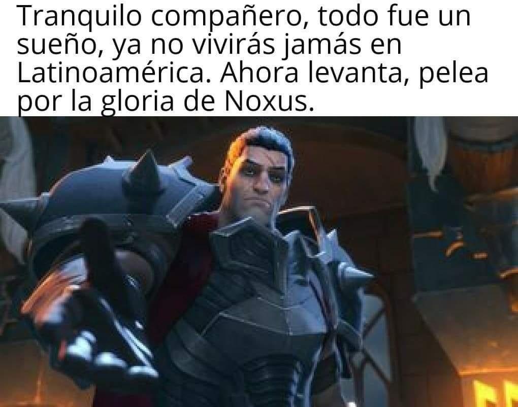 Salgamos de Latinoamérica amigos - meme