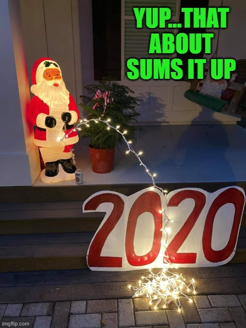 2020 Christmas lights - meme