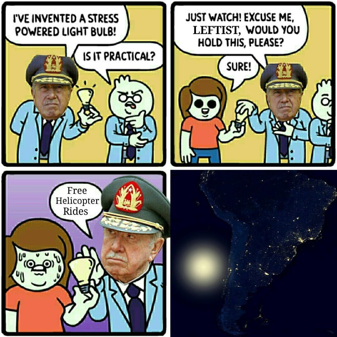 General Pinochet - meme