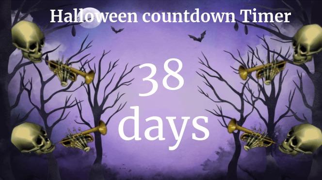 38 days till Halloween - meme