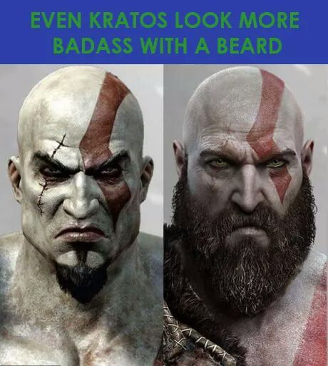 Lord Kratos,  be gentle it's my first time - meme