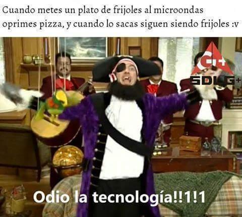 odio la tecnología - meme