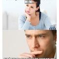 No que os homens pensam