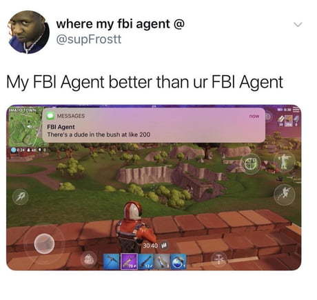 Fbi is watching - meme