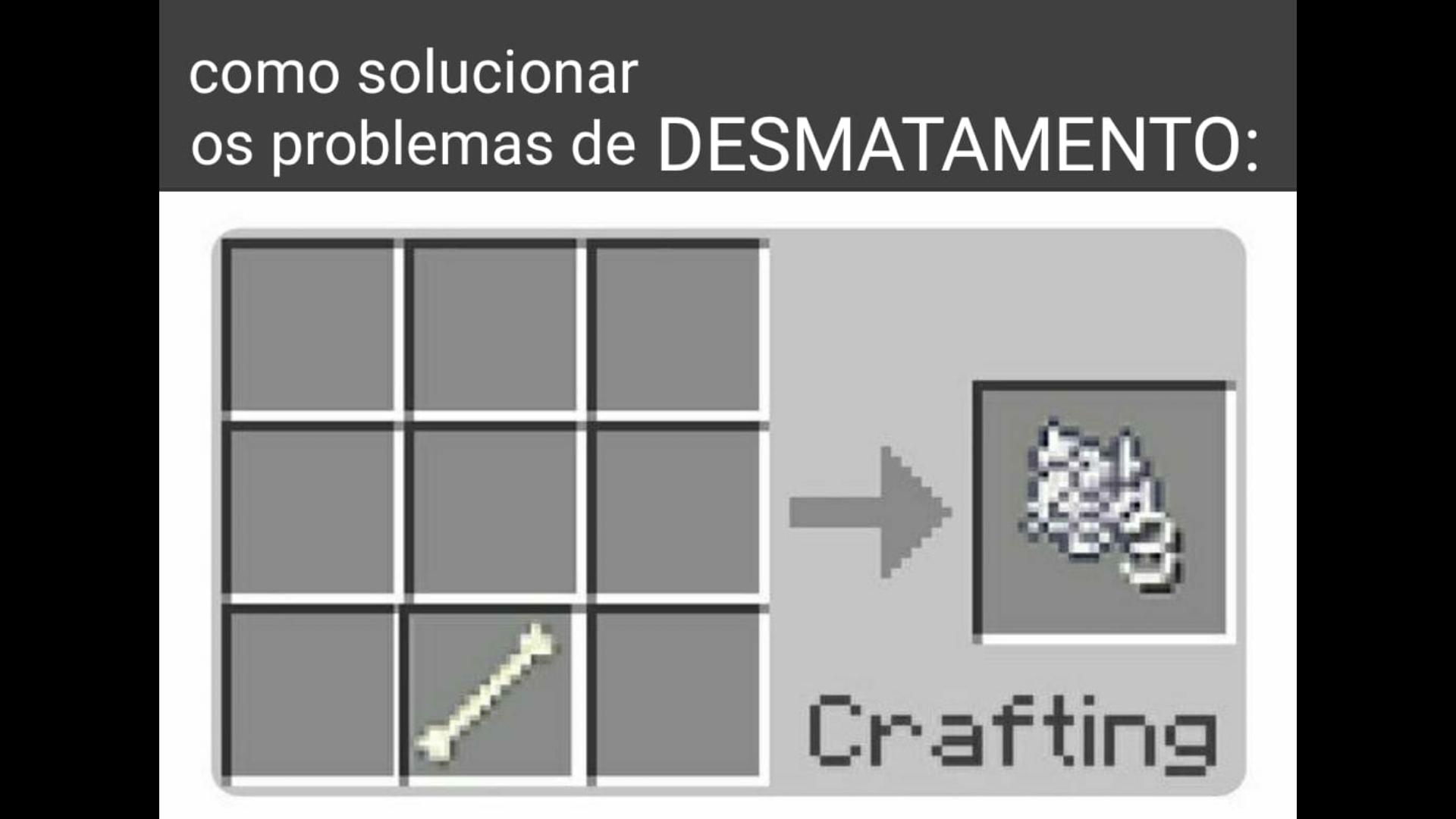 Eis uma solução - meme