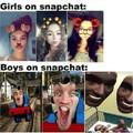 Título foi usar Snapchat
