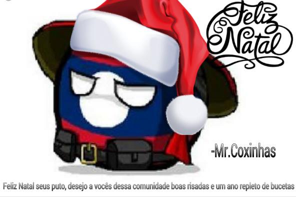 Feliz natal meus camaradas, postando dnv pq n passou - meme