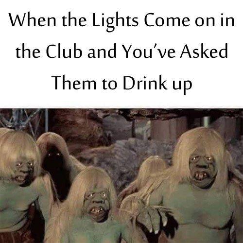 Horrid Drunks - meme