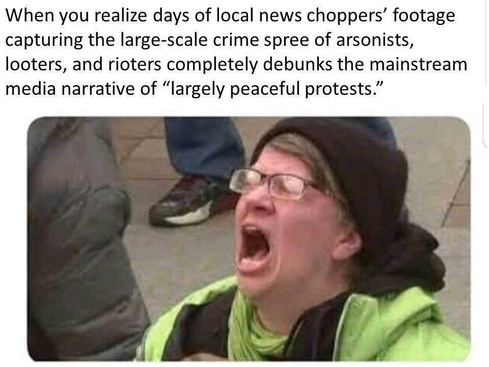 A Tale of Two Newscasts - meme