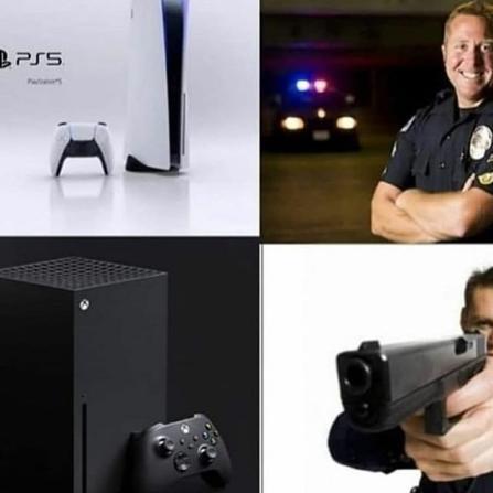 Policias Américanos - meme